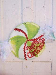 Christmas Candy Door Hanger
