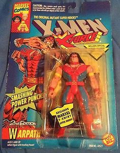 X-Men X-Force Warpath Marvel Comics Action Figure Trading Card 1994 2nd Edition - http://hobbies-toys.goshoppins.com/action-figures/x-men-x-force-warpath-marvel-comics-action-figure-trading-card-1994-2nd-edition/