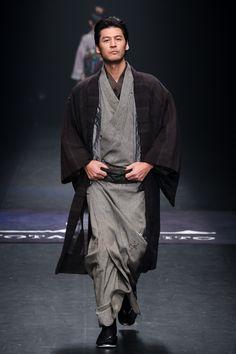 Men's kimono by Jotaro Saito, AW 2014
