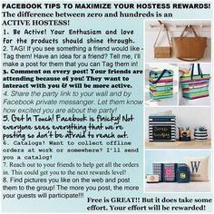 Maximize hostess rewards                                                       …