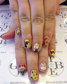 Day 331: Thanksgiving Day Nail Art - - NAILS Magazine