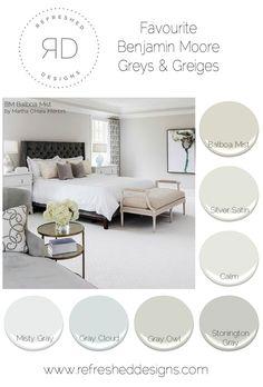 Best Grey Paint for Bedroom - Best Grey Paint for Bedroom, Color Cheat Sheet the Best Gray Paint Colors Interior Paint Colors, Paint Colors For Home, House Colors, Paint Colours 2017, Living Room Colors, Bedroom Colors, Bedroom Decor, Neutral Bathroom Colors, Grey Bedroom Paint