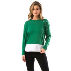 Bluza dama verde Tunic Tops, Women, Fashion, Tights, Green, Tricot, Moda, Women's, Fashion Styles