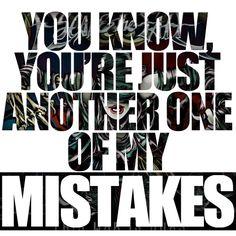 I wish it was true... But I love u so much that I can't call u a mistake babe...