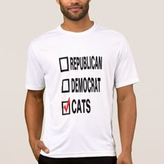 Funny Politcal Cat T-shirts - mens sportswear fitness apparel sports men healthy life