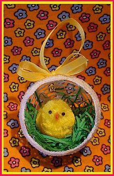пасхальный домик для цыпленка. вязание крючком (2) (259x400, 39Kb)