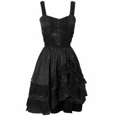 Attitude Clothing - Alternative, Gothic, Punk, Rock Clothing, Shoes, Brands + Accessories - Jawbreaker Persephone Dress