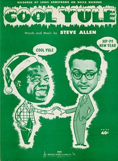 Cool Yule written by Steve Allen recorded by Louis Armstrong Christmas Sheet Music, Christmas Music, Retro Christmas, Xmas, Christmas Carol, Christmas Holidays, Christmas Crafts, Christmas Decorations, Sheet Music Art