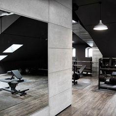 concreAte - beton architektoniczny - płyty betonowe - płytki betonowe - ściana betonowa - imitacja betonu Industrial Interiors
