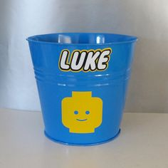 Personalized Lego Small Vinyl Decal and Lego Head by TypoRific, $2.25