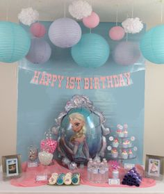 Frozen Party Kit with FREE PRINTABLES by PerfectPartyKits on Etsy, $89.49