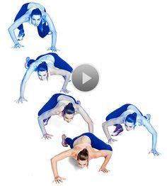 Watch Capoeira Crawl in the Fitness Magazine Video