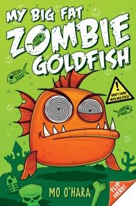 Book Birthday Interview with MoO'Hara - My Big Fat Zombie Goldfish