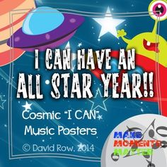 These All Star Posters Feature Cosmic Characters In Starry Scenes Talking Room Decorations