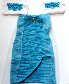 Ravelry: Ice Queen Dress and Crown pattern by Beauty Crochet Pattern