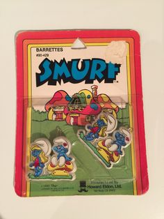 Excited to share the latest addition to my shop: Vintage Smurfs Barrette Barrette, See Picture, Vintage Toys, Smurfs, Super Cute, Packaging, Mint, Etsy Shop, Pictures