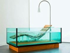 Glass tubs. Yes please.