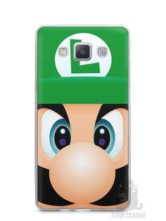 Capa Capinha Samsung A7 2015 Luigi Irmão do Super Mario - SmartCases - Acessórios para celulares e tablets :)