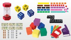 Students learn better when they're engaged, and manipulatives in the classroom make it easy for kids to get excited. We recently asked a group of elementary school teachers to come up with unique ways to use manipulatives in the classroom [… Math Manipulatives, Math Fractions, Numeracy, Teaching Fractions, Maths Algebra, Word Walls, Education Quotes For Teachers, Quotes For Students, Image Clipart