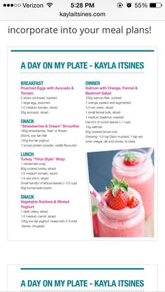 A Day On My Plate day on a plate kayla itsines, kayla itsines diet, what does kayla itsines eat, kayla itsines meal plan Sport Nutrition, Proper Nutrition, Nutrition Plans, Nutrition Tips, Healthy Nutrition, Fitness Nutrition, Holistic Nutrition, Nutrition Quotes, Complete Nutrition