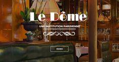 Découvrez l'esprit du Dôme, célèbre restaurant de poissons à Paris Montparnasse 14ème. Ouvert du Lundi au Dimanche de 12h à 15h / 19h à 23h.