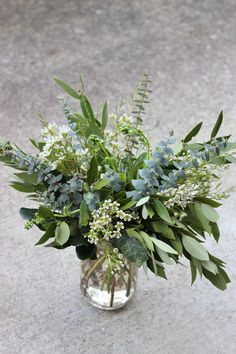 greenery foliage eucalyptus centerpiece budge decor idea is part of Greenery wedding centerpieces - Eucalyptus Centerpiece, Green Centerpieces, Greenery Centerpiece, Wedding Table Centerpieces, Centerpiece Ideas, Green Wedding Arrangements, Greenery Decor, Wedding Tables, Potted Plant Centerpieces