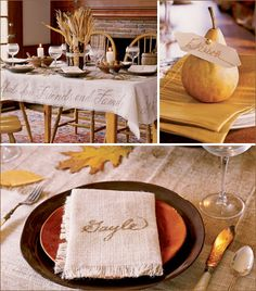 Elegant #Thanksgiving #Table Setting.