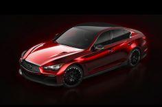 Infiniti Q50 Eau Rouge Concept #car #concept #infiniti