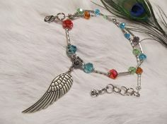 Angel Wing Crystal Necklace