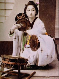 girl of old Japan