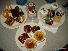 WDW Moms Panel: Good Eats When Going Solo at Disney - Goodies at the Wishes Dessert Party