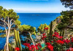Jardín botánico de Cap Roig - Vista al mar