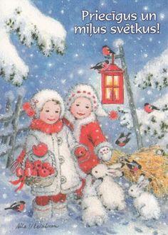 Christmas card by Aila Utrianen