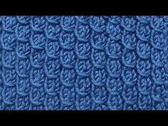 YouTube Crochet Stitches Patterns, Knitting Stitches, Crochet Designs, Cross Stitch Patterns, Knitting Patterns, Knitting Help, Knitting Videos, Crochet Market Bag, Crochet For Beginners