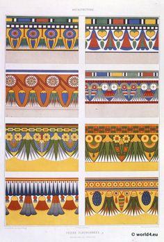 Ägyptische Ornamente