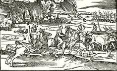 Magyar sors. Fametszet 1543-ból(Országos Széchenyi-Könyvtár.)