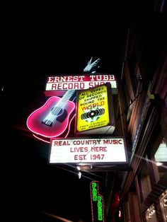 Real country music does live here