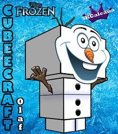 Disney Princess frozen Olaf 3D standing1 small