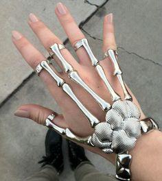 Skeleton slave bracelet