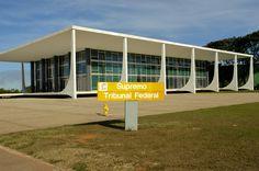 Principais Obras de Oscar Niemeyer - No Brasil e No Exterior - Supremo Tribunal Federal, Brasília