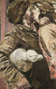 The Miner by Walter Richard Sickert. High quality art prints with a selection of frame and size options, canvases, postcards and mugs. Birmingham Museums and Art Gallery Gouache, Walter Sickert, Birmingham Museum, Art Nouveau, Art Through The Ages, Impressionist Artists, Post Impressionism, Portraits, Pastel