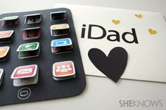 Father's Day printable card for a tech dad