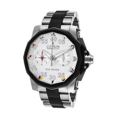 Corum Admiral's Cup Leap Second Chrono Automatic // 895-931-06-V791 AA92 // New