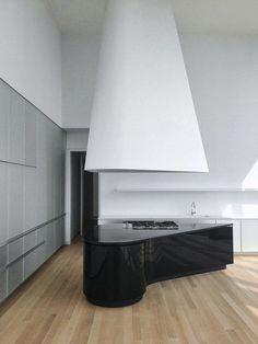 Dada + Herzog & de Meuron 56 Leonard Street, New York Layout Design, Küchen Design, Home Design, Design Shop, Modern Kitchen Interiors, Modern Kitchen Design, Shop Interior Design, Interior Design Kitchen, Leonard Street