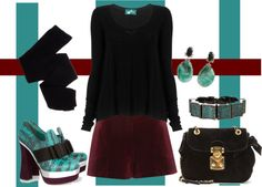 """""""Miu Miu Ankle Boot for contest"""" by rcm6511 ❤ liked on Polyvore"""