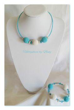 https://www.facebook.com/Hobbystica/ #necklace #bracelet #crochet #jewelry # lemaddine @lemaddine #madeinfacebook #lemaddine #handmade #handcrafted #instagram #instapic #instagood #picoftheday #instacool #cool #cute #jewelry #jewellery #jewels #jewel #bijoux #handmadejewelry #crochet #crocheting #crochetaddict #necklace #blue #hobbysticabynany