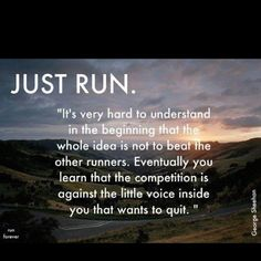A great running quote! Something to think about when out for a run! A great running quote! Something to think about when out for a run! A great running quote! Something to think about when out for a run! Sport Motivation, Fitness Motivation, Tuesday Motivation, Marathon Motivation, Marathon Quotes, Runners Motivation, Quotes Motivation, Triathlon Motivation, Daily Motivation