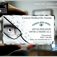 Business cards  Sibiu,  Business cards medicina farmacie