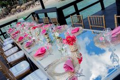 Pops of bright pink are a beautiful addition to your decor when you plan your destination wedding at Dreams La Romana! Dreams Resorts, Spa Offers, Us Beaches, Dominican Republic, Resort Spa, Beach Resorts, Bright Pink, Destination Wedding, Table Decorations