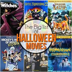 ive decided to put a big list of halloween movies together for all of you these movies are available on all different sites primarily netflix